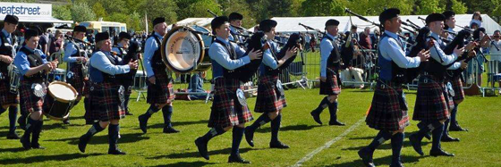 Alyth and District Grade 4 Pipe Band