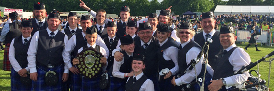 Kinross and District Grade 4 Pipe Band