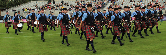Vale of Atholl Grade 1 Pipe Band